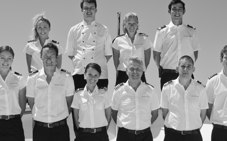 Superyacht crew photo